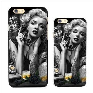 iPhone X hard case cover Marilyn Monroe